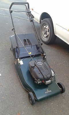 Hayter harrier 56 lawnmower with rear roller