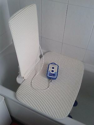 Aqua-Joy Premier Plus bath lift with back and seat cover, only used 2 or 3 times