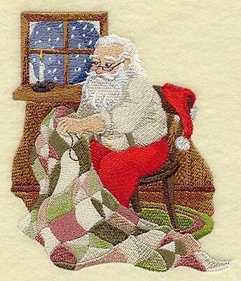 Finished Embroidery Santa Claus Quilting