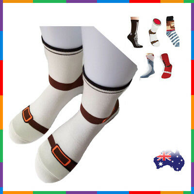 Free Sandal Silly Sock Sneaker Socks Cotton Shoe Print gift Christmas Birthday