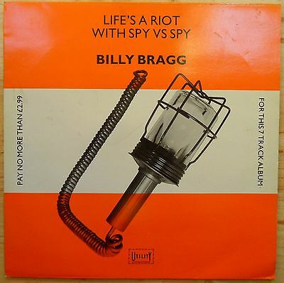 BILLY BRAGG - Life's a riot with Spy Vs. Spy.