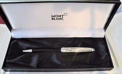 Montblanc 5020 Solitaire Doue  Stainless Steel BallPoint Pen
