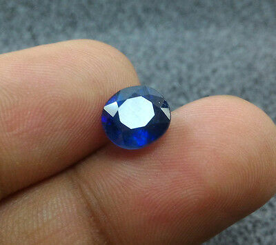 4.00 Ct Top Blue Sapphire 100% Natural Loose Oval Shape Gemstone Sapphire