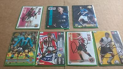 7 Ex Leeds United players signed cards