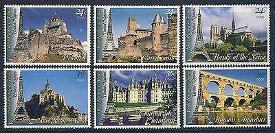 UN - NY 2006 France World Heritage . Booklet Singles/6 . Mint Never Hinged