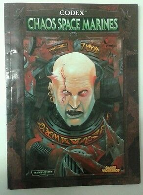 warhammer codex Chaos space marines citadel games workshop book 40k 40000
