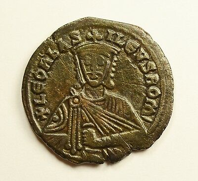 VF - Leo VI The Vise Follis Constantinople - ANCIENT BYZANTINE COIN