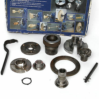 Record Power RP3000X Chuck Kit 3/4 x 16tpi for most Woodturning Lathes  - in Box