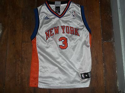 Magnifique Maillot Nba New York Adidas Taille Xs