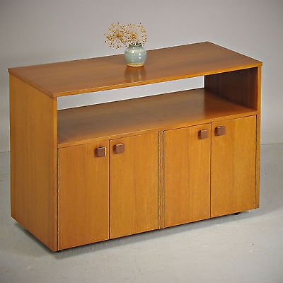Record Cabinet / Hi Fi Trolley - Teak, Retro, Vintage (delivery available)