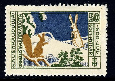 FINLAND - 1926 Christmas Seal - Mint Hinged
