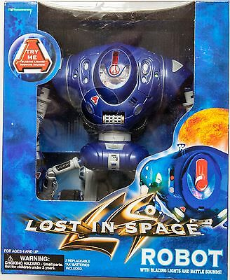 Lost in Space Robot with Blazing Lights & Battle Sounds Trendmasters 1997
