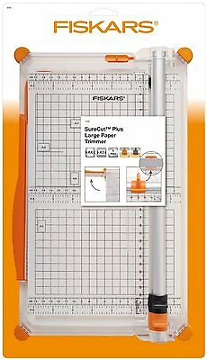 FISKARS Surecut Plus Large  PAPER TRIMMER A4 A3  IN GOOD CONDITION  4560 R
