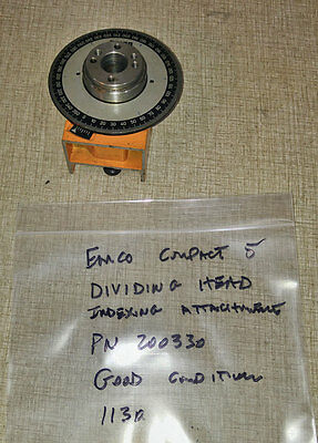 Emco Sears Craftsman Compact 5 Indexing Attachment  PN 200320 or 200330   1130