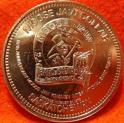 1978 Canada Trade Dollar MOOSE JAW SCHOOL SASKATCHEWAN Uncirculated