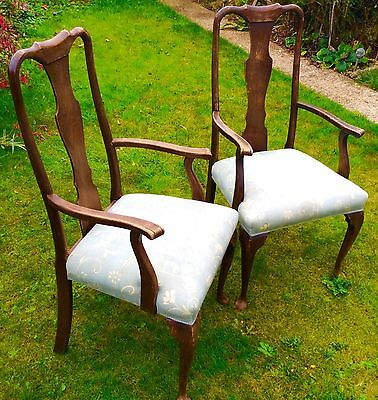 A Pair Of Carver Armchairs