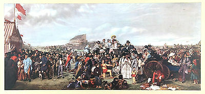 """""""The Derby Day""""  (1858) High Quality Lithograph after William Powell Frith, R.A."""