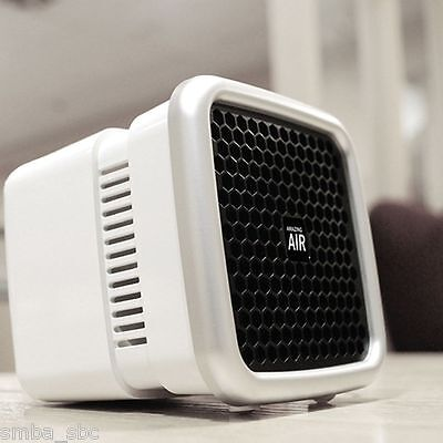 Amazing Air Cleaner Purifier Water Washable Filter Compact Room Car Korea Best