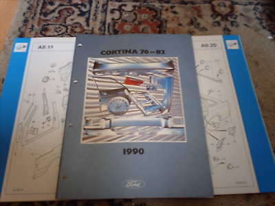 Ford Crash Parts Catalogue Cortina 1976 - 82 inc Estate