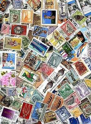 CYPRUS UNSORTED COLLECTION OF OVER 130 STAMPS GOOD USED & MINT: See Scan