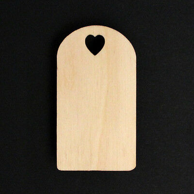 10 Wooden Gift Tags Christmas Present Labels Craft Blanks Decorations