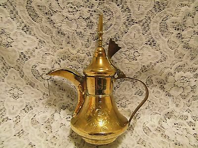 Arabic Bedouins  traditional brass coffee pot