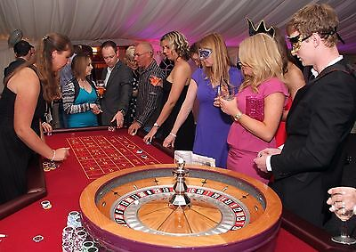 Paradise Fun Casino Party Hire - Norwich Norfolk, Roulette, Blackjack or Poker