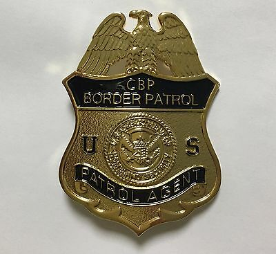 United States Patrol Agent Metal Pin Props Collection Badge -1986
