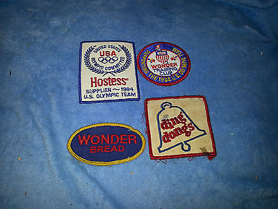 Hostess & Wonder Bread Ding Dong Patches