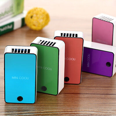 Portable Mini Cooli USB Rechargeable Air Conditioner Summer Handheld Cool Fan
