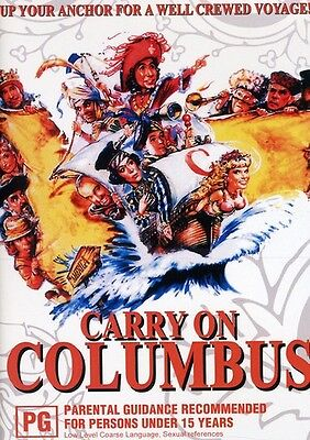 Carry On Columbus (2010, DVD NEUF)