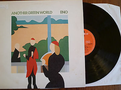 BRIAN ENO - ANOTHER GREEN WORLD.1975 UK LP Island ILPS 9351