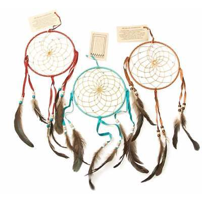 "Native American Indian Native American Navajo Dream Catcher 6"" (Turquoise)"