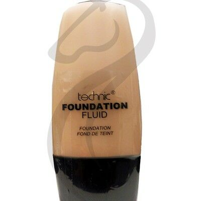 Technic Foundation Fluid Light Liquid Foundation Make Up Cosmetics 30ml Sealed