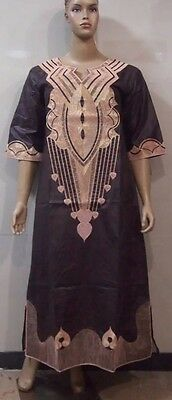 African Senegalese Style Kaftan Dress Size available: XXL, 3XL and 4XL.