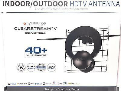 LATEST MODEL Antennas Direct ClearStream C-1V Indoor/Outdoor HDTV Antenna