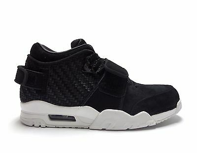 9cfee2791bfe NIKE MEN S AIR TRAINER VICTOR CRUZ Black Suede Shoes 777535-004 a ...