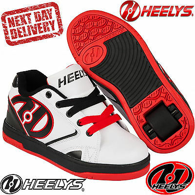 New 2016/17 Heelys Propel Red Kids Roller Skating Shoes Trainers