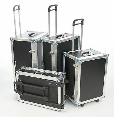 5 Star Cases UK Made Trolley Wheeled Foamed Custom Transit Luggage Flight Cases