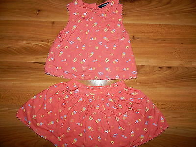 George girls summer outfit bundle 2-3 years top skirt *I'll combine postage