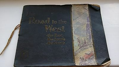 The Road to the West Vintage British Isles Maps Don Brakes Advert Booklet 1930s?