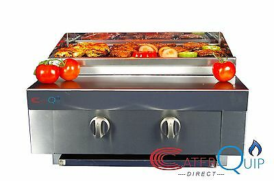 2 Burner Gas Char grill Charcoal Grill  BBQ Grill  Heavy Duty For Commercial Use