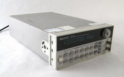 HP Agilent 33120A 15 MHz Function Arbitrary Waveform Generator Modulation