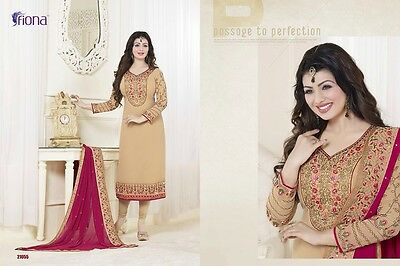 Pakistani Indian Bollywood Shalwar Kameez Designer1 Dress Semi-stitched Upto 44""
