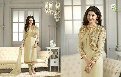 Pakistani/Indian Bollywood Dresses For Wedding Party EID/Georgette Semi-Stitched