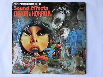 BBC Sound Effects - Death and Horror Vol. 13, 12-inch Vinyl Record