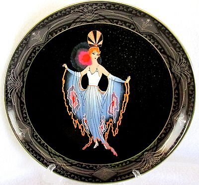 "HOUSE OF ERTE for Royal Doulton ""TWILIGHT""  Limited Edition Plate"