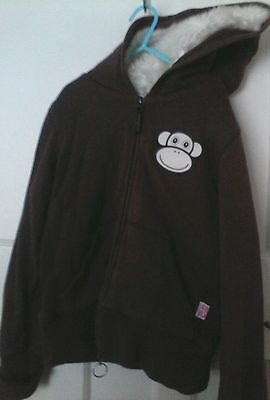 Girls Warm Hoodie Faux Fur, 13/14 years old