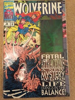 Wolverine 75 (1993) Fatal Attractions (Hologram Panel)