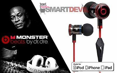 ORIGINAL MONSTER iBEATS BEATS BY DR. DRE IN-EAR HEADSET KOPFHÖRER / SCHWARZ